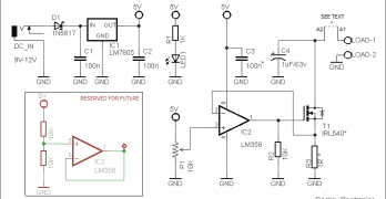 Simple Electronic DC Load
