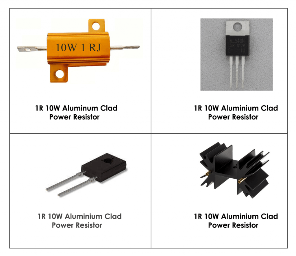DC Load Power Components