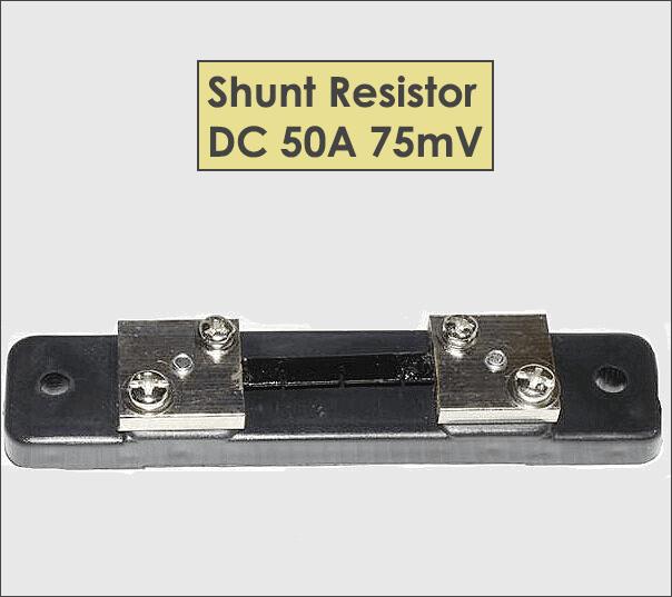 Shunt Resistor DC 50A 75mV