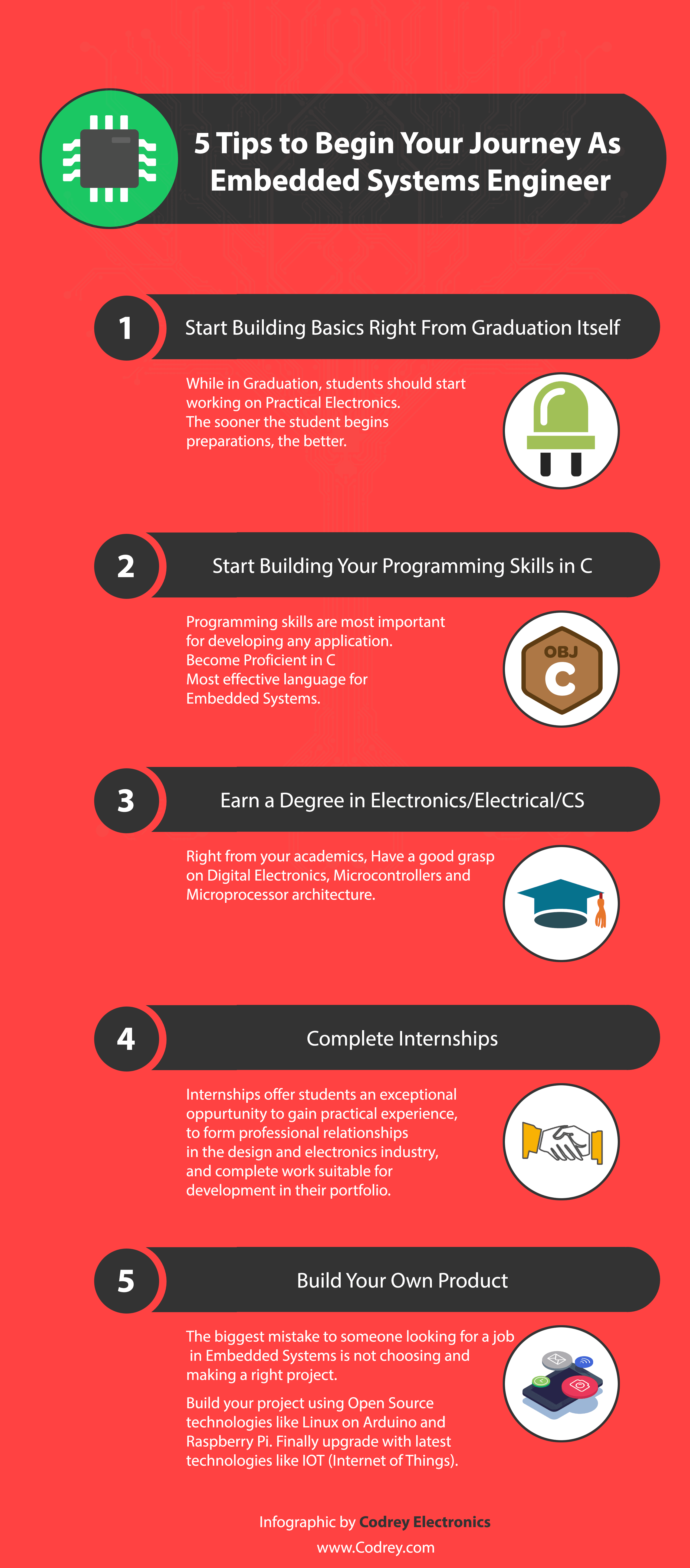 Embedded Systems Engineer Infographic