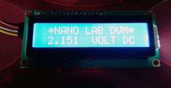 Nano Digital Volt Meter