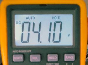 Lithium Ion battery Charger Teardown - Multimeter