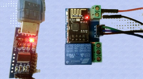 WiFi Relay Module-Serial Setup