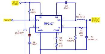 3V3 uC Power Supply