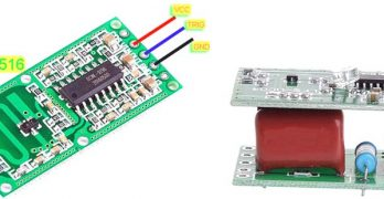Microwave Radar Motion Sensor Switch