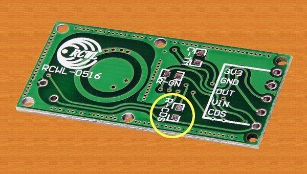 Microwave Radar Motion Sensor Switch - RCDS Pad
