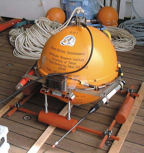 Electronics Applications - Ocean Seiosmometer