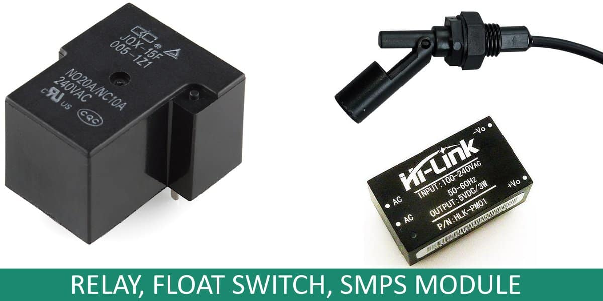 Secure Water Pump Switch Codrey Electronics