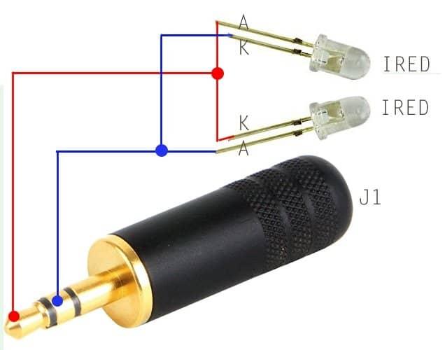 Infrared (IR) Adapter for Smartphone - IRTXv1_0