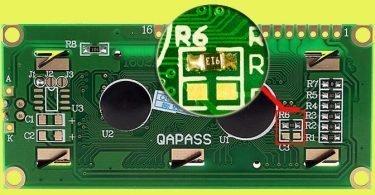 5V to 3V3 LCD-Rosc Pointer