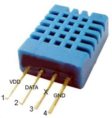 DHT11-Sensor Pinout
