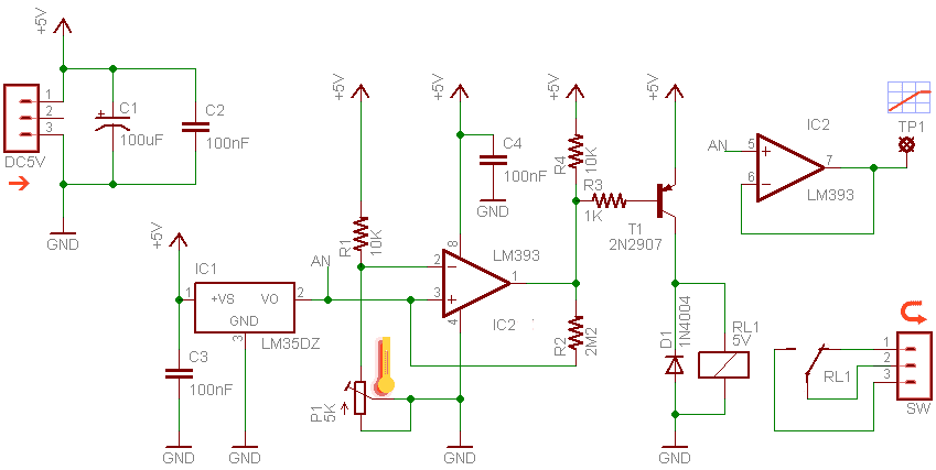 Electric Water Heater Thermostat Module