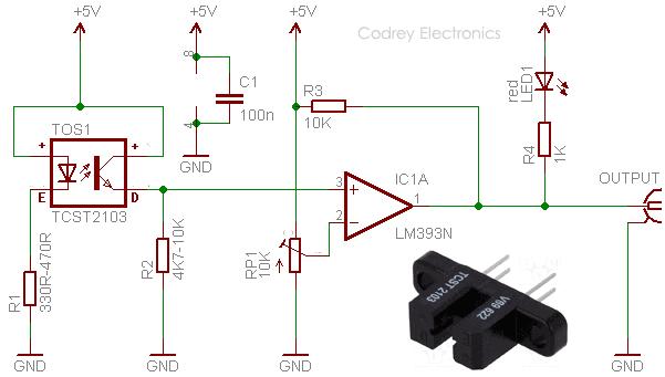 Optical Smoke Alarm Circuit