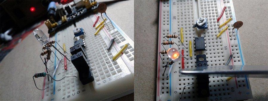 Optical Smoke Alarm-Initial Test