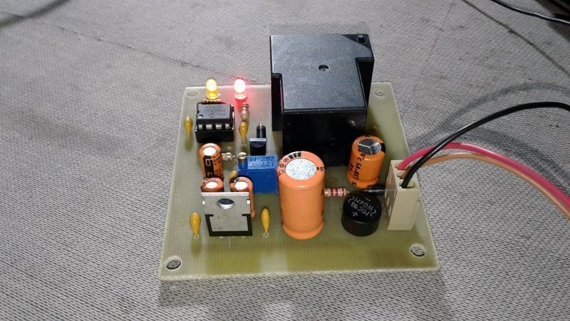 Over Voltage Protector (OVP) Switch