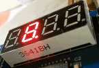 4-Digit 7-Segment LED Display Module