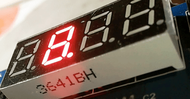 4-Digit 7-Segment LED Display Module