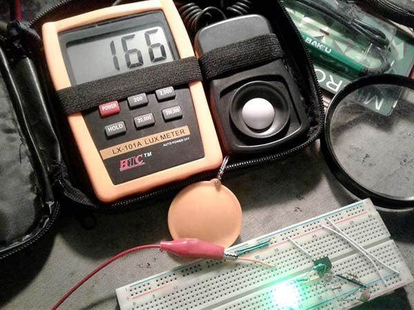 Lady Beetle LED - Test setup