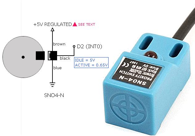 Arduino Tachometer-Sensor Connect