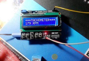 Arduino Tachometer-Tacho Display