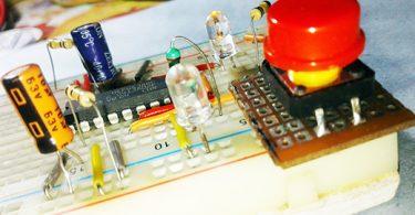 Pulse Drop Detector-Breadboard Experiment