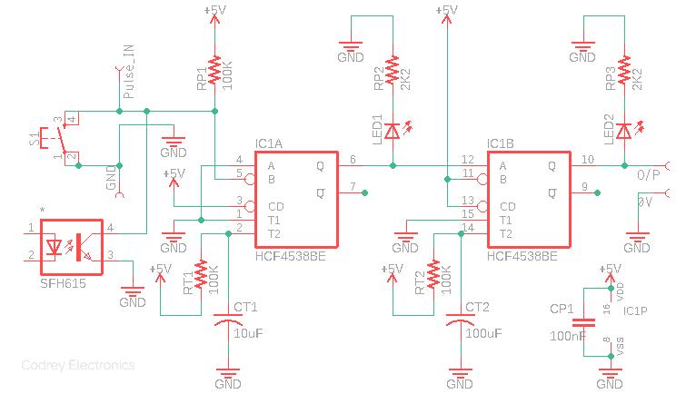 Pulse Drop Detector Circuit