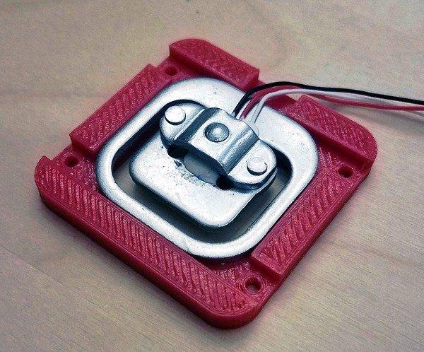 Build a Digital Weight Scale-Half Bridge Load Sensor holder 3DP