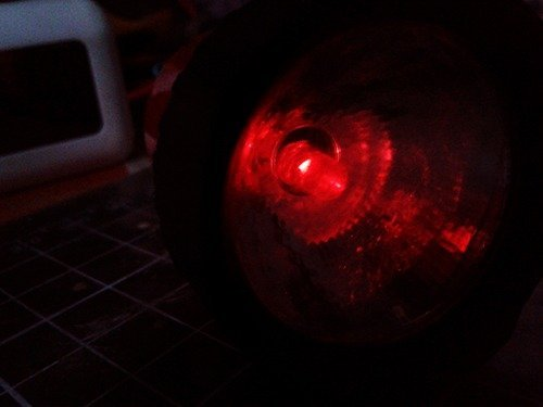 Bicycle Tail Light-Initial Lab Test