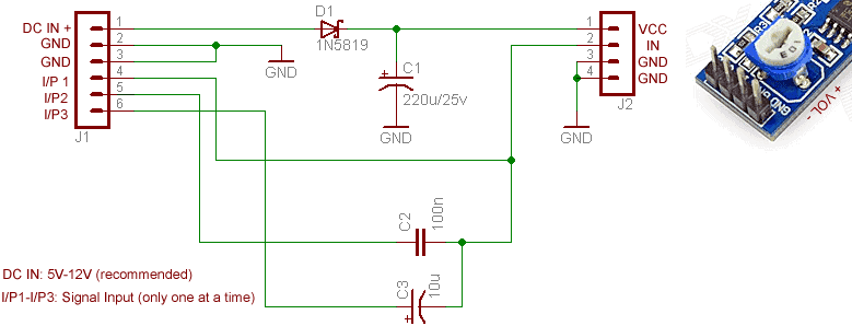 LM386 Adapter Circuit