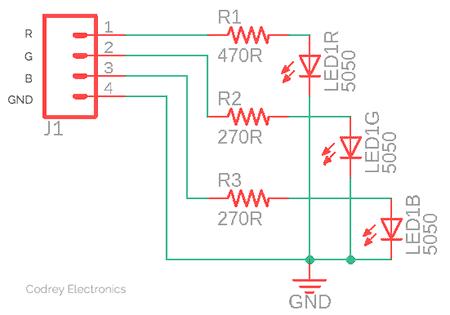 RGB LED Module Circuit