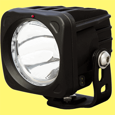 Rechargeable Power LED Torch-Enclosure Model