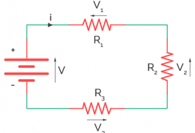 Series Resistor as Voltage Divider