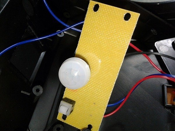 Solar Light PCB Top