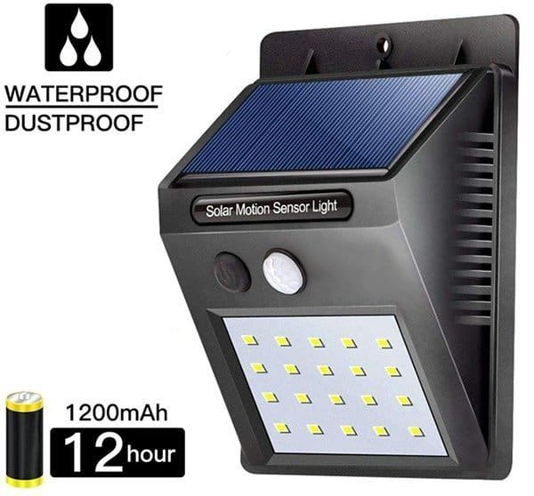 Solar Sensor Wall Light-Product Intro