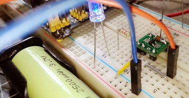 Solar and USB Li-ion Charger
