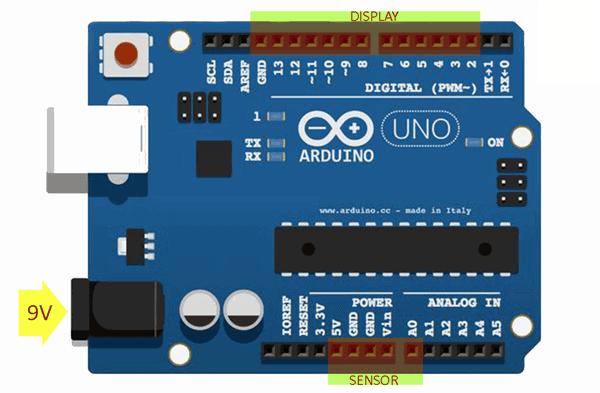 Arduino Analog Sensor Reader-Arduino Setup