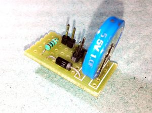 Arduino Power-Down & Auto-Save-SuperCap Module