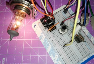 Digital Switch for Examination Lamp-Experiments (4)
