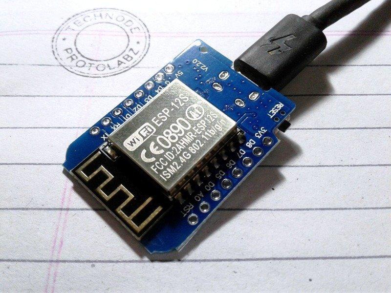 WeMos D1 Mini Connected