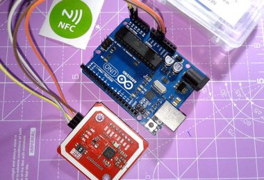 Build Your Own NFC Keyring-NFC Writer Setup