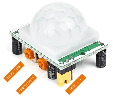 Door Video Security Camera-HC-SR501 PIR Sensor Module