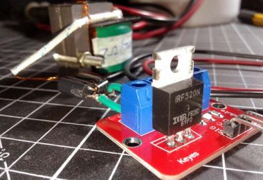 Lifting Electromagnet-Basic MOSFET Driver