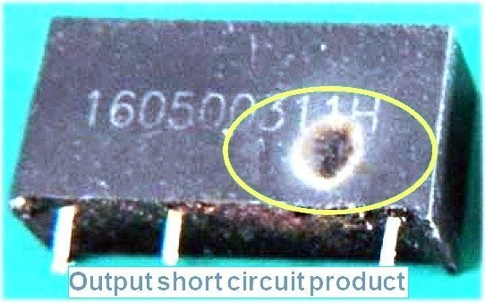 MORNSUN B0505S-Short Circuit Module