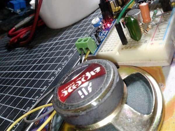 Wireless Mini Boombox-Breadboard Test 2