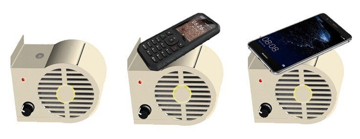 Wireless Mini Boombox-Enclosure Model