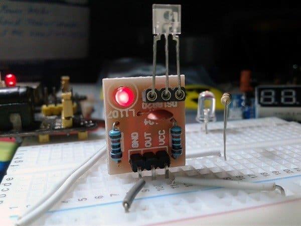 Laser Rx Module Test Setup