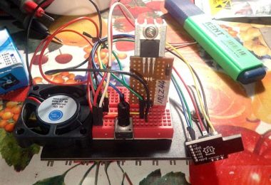 Micro Cooling Fan Governor-Test Setup(1)