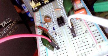 Easy 555 EC Sensor-Breadboard Tryout
