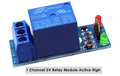Relay 5V Module Active High