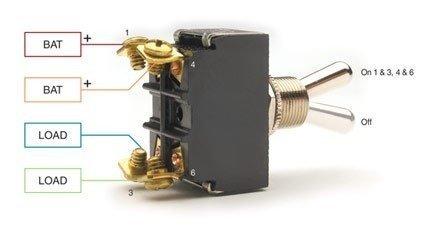 DPST Switch